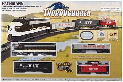 Bachmann Thoroughbred Ready-to-Run HO Scale Train Sets