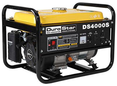 DuroStar DS4000S, Gas Powered Portable Generator