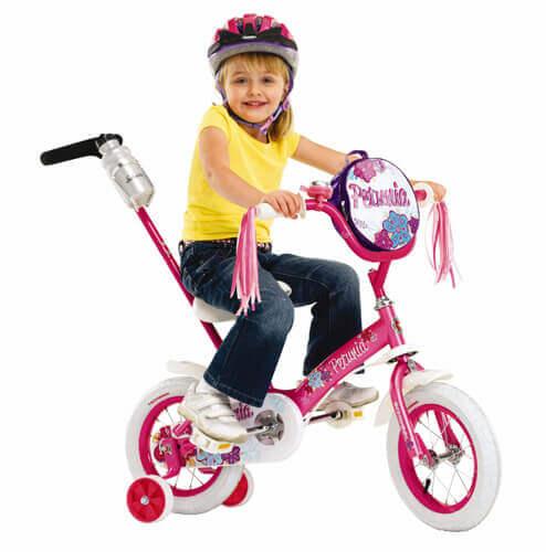 Schwinn Girl's Petunia 12-inch Steerable Bike