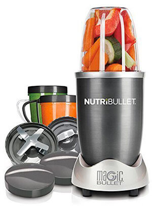 Magic Bullet NutriBullet 12-Piece High-Speed Blender