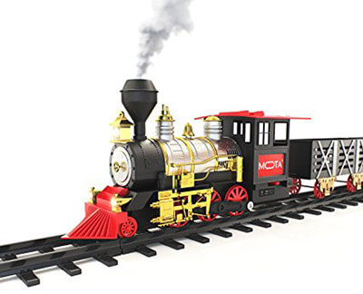 MOTA Classic Train Set with Real Smoke - Signature Sounds and Lights