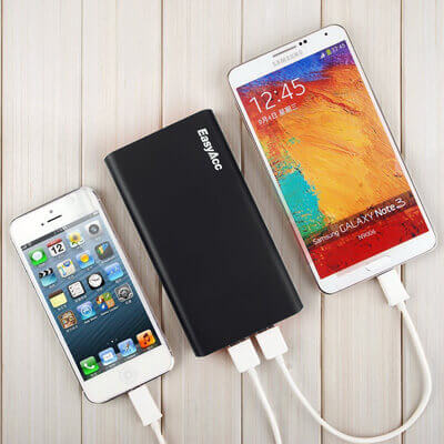 EasyAcc Classic 10000mAh Power Bank Brilliant External Battery Pack