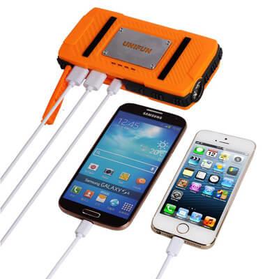UNIFUN 10400mAh USB External Travel Battery.