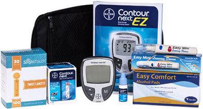 Contour Next Diabetes Testing Kit