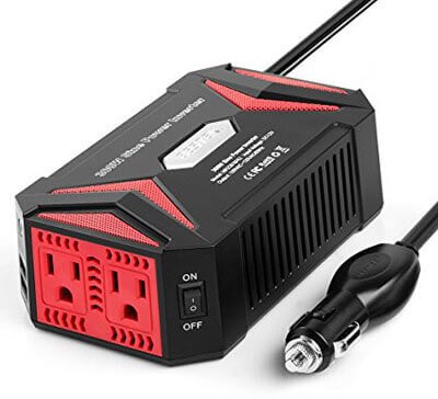 BESTEK 300W Power Inverter with 4.2A Dual Smart Ports