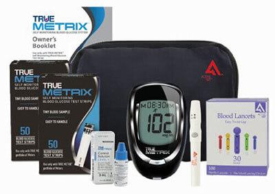 Active1st TrueMetrix Glucose Monitoring Kit