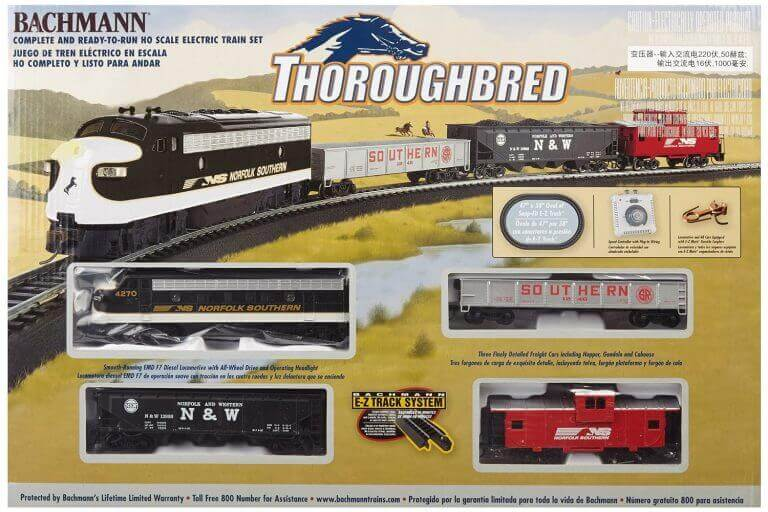 Bachmann Thoroughbred Ready-to-Run HO Scale Train Sets