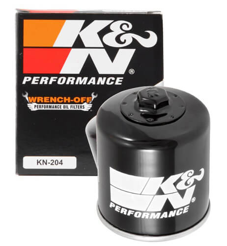 K&N KN-204 Motorcycles/Powersport High Performance Filter