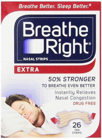 Nasal Strips from Breathe Right