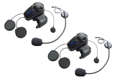Sena SMH10D-11 Dual Bluetooth Headset with Universal Microphone