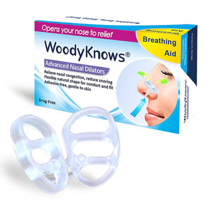Invisible Nasal Strips from WoodyKnows