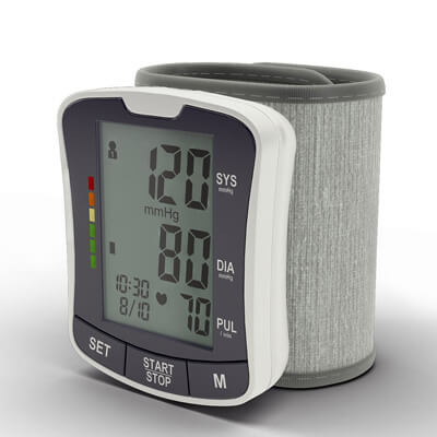 Zigabob BP-2208 Automatic Wrist Blood Pressure Monitor