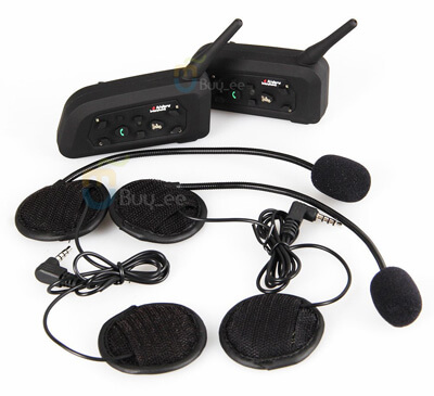 Buyee T190 Helmet Bluetooth Headset-Set of Two