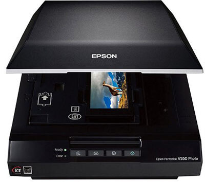 Epson Perfection V550 Color Photo, Image, Film, Negative & Document Scanner