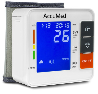 AccuMed ABP801 Portable Wrist