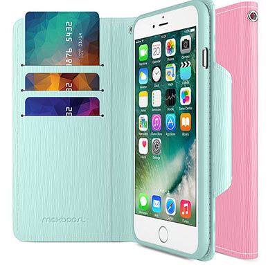 Maxboost Premium iPhone 7 Plus Wallet Case