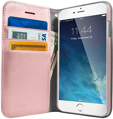 Silk iPhone 7 Rose Gold Wallet Case