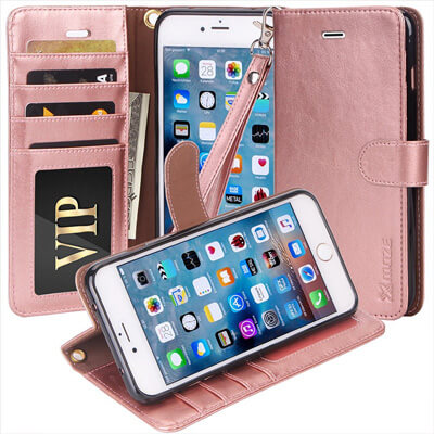 Moze IPhone 7 Wallet Case