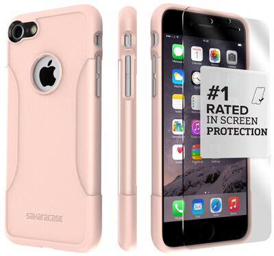 IPhone 7 Case Protector, (Rose Gold)