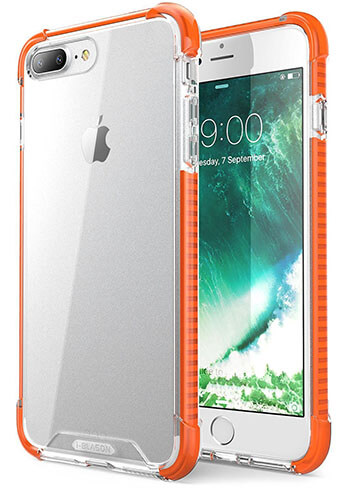 i-Blason Orange Shockproof Bumper Case
