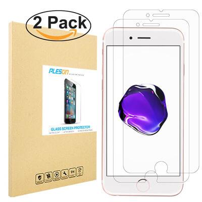 IPhone 7 Plus Screen Protector, PLESON