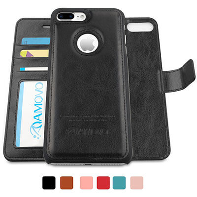 AMOVO iPhone 7Plus Wallet Case