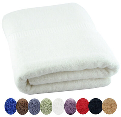 Utopia Luxury 100 Percent Combed Cotton Bath Towel