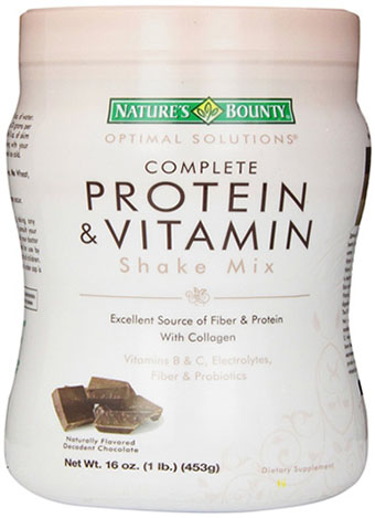 Nature's Bounty Protein Shake Mix