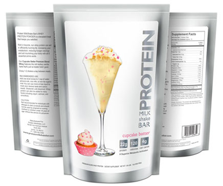 Cupcake Batter Protein Powder for Women