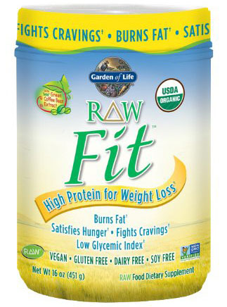 Garden of Life Raw Fit Protein Nutritional Supplement