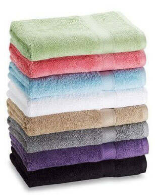 7-Pack: 27 by 52 100% Extra-Absorbent Cotton Bath Towels