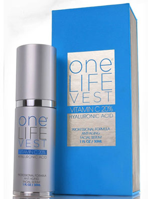 Professional Formula Anti-Aging Facial Serum from One Life Vest