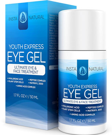 Eye Cream for Puffiness, Dark Circles and Bags from InstaNatural