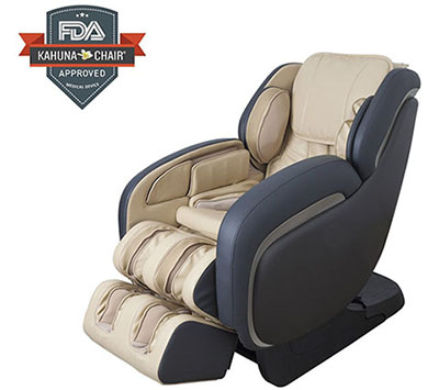 Best Performance L-Track Shiatsu Kahuna Massage Chair LM-7800