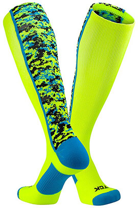 TCK Sports Elite Digital Camo Performance Socks