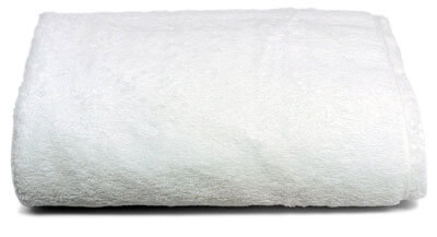 Luxury Bath Sheet, Ultra Soft and Absorbent, White Egyptian Cotton
