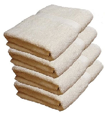 BELLA KLINE Designs Deluxe 100 Percent Cotton Bath Towels