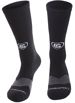 DashSport Soccer Socks, Padded sole
