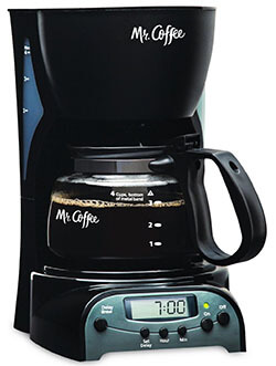 DRX5 Mr. Coffee 4-Cup Coffee Maker