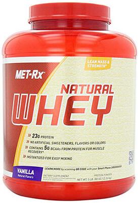 MET-Rx Natural Whey Vanilla