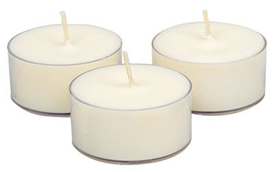Soy Tealight Candles All Natural Colors