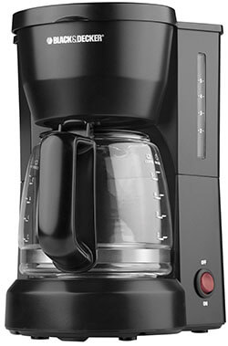 DCM600B Black and Decker 5-Cup Machine