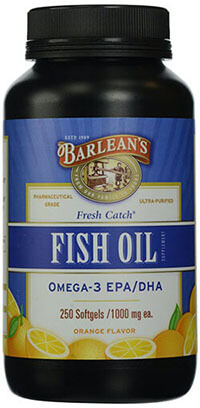 Barlean's Organic Oils Fresh Catch Fish Oil & Omega-3