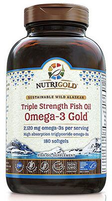 Nutrigold Triple Strength Fish Oil Supplement