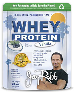 Jay Robb - Grass-Fed Whey Protein Isolate Powder