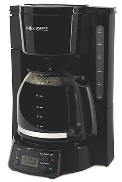 Mr. Coffee BVMC-EVX23 Black Programmable Coffee Maker