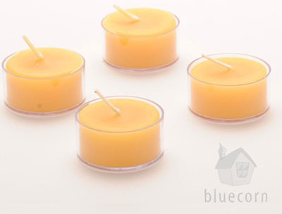 Bluecorn Naturals Beeswax Tea Lights
