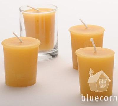 Bluecorn Naturals Beeswax Votives