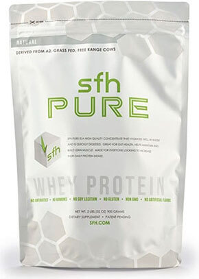 Stronger Faster Healthier Pure Whey Protein Powder