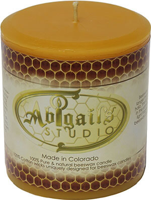 Abigail's Studio Beeswax Candle